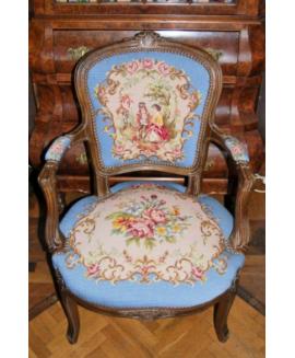 Единично кресло Рококо